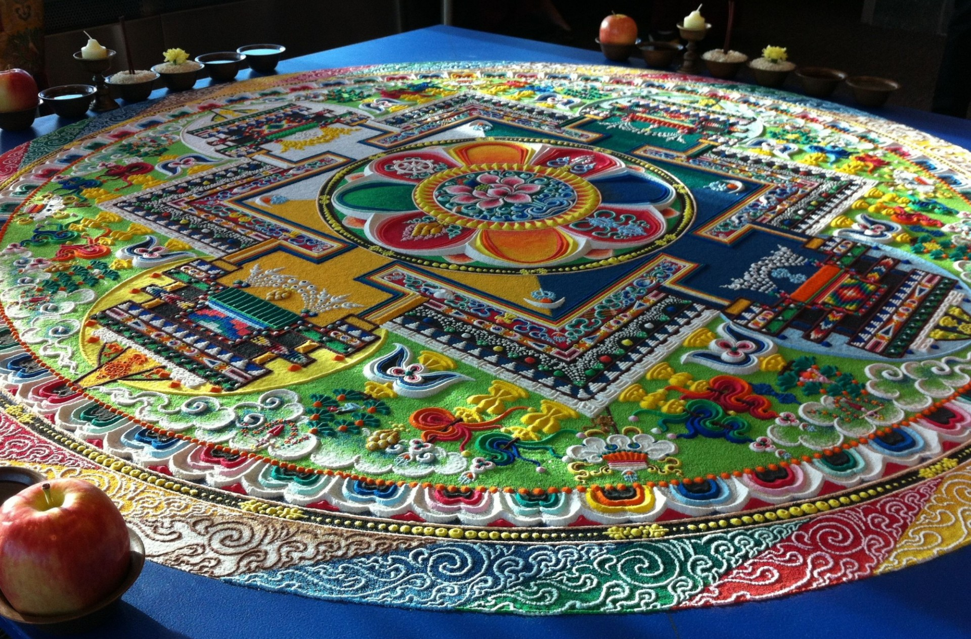 Compassion Particle Mandala